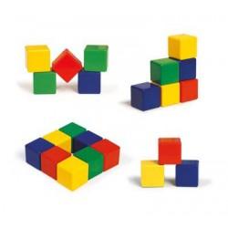 اسباب بازی-مکعبهای رنگی بزرگ