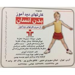 فلش کارت-بدن انسان (از سری کارتهای دیدآموز)