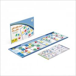 اسباب بازی-جدول شگفت انگیز شکل و رنگ 4×4