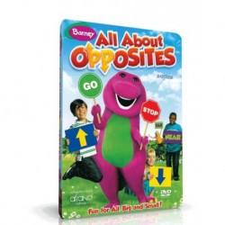 آموزش زبان کودک-همه چیز درباره متضادها Barney: All about apposites