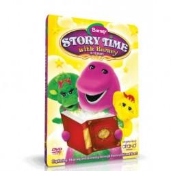 آموزش زبان کودک -وقت داستان با بارنی BARNEY STORY TIME WITH BARNEY