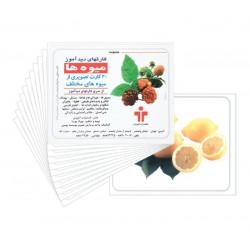 فلش کارت-میوه ها
