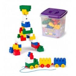 اسباب بازی-آجره 45 قطعه سطلی