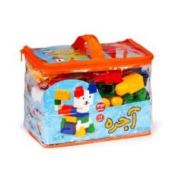 اسباب بازی-آجره 33 قطعه کیفی