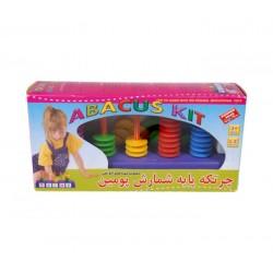 اسباب بازی-چرتکه پایه شمارش پومین