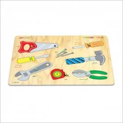اسباب بازی-پازل ابزار آلات
