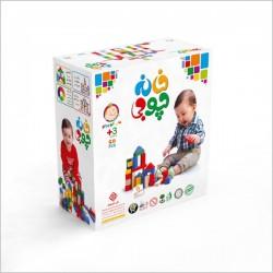 اسباب بازی-خانه چوبی