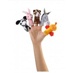 اسباب بازی-عروسک های انگشتی حیوانات