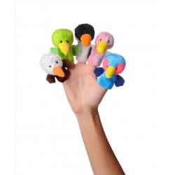 اسباب بازی-عروسک های انگشتی پرندگان