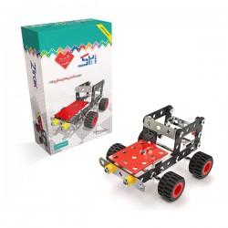 اسباب بازی-ساختنی فلزی ماشین بیابان