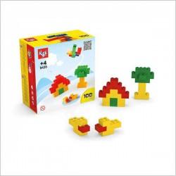 اسباب بازی-لگو ریز 100 قطعه