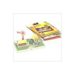 اسباب بازی-آسیاب بادی کاردستی بیبلو