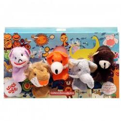اسباب بازی-عروسک انگشتی حیوانات جنگل