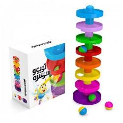اسباب بازی-توپ و سرسره 8 طبقه