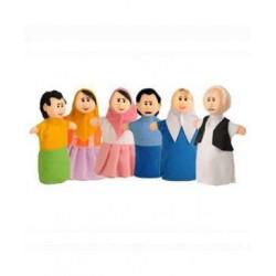 اسباب بازی-عروسک های نمایشی خانواده