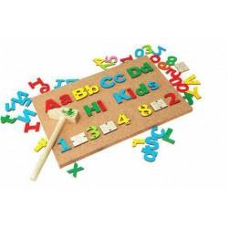 اسباب بازی-بازی میخ و چکش (حروف و الفبا)
