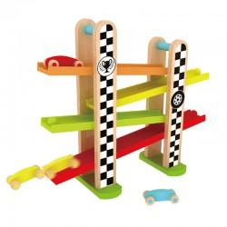 اسباب بازی-بازی فرمول یک چوبی Classic World مدل F1 racing Track