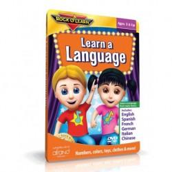 آموزش زبان-زبان یاد بگیر (LEARN A LANGUAGE (ROCK N LEARN