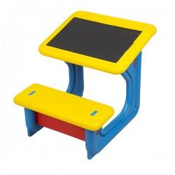 اسباب بازی-میز تحریر کودک رنگ آبی