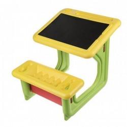 اسباب بازی-میز تحریر کودک رنگ سبز