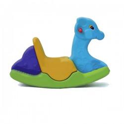 اسباب بازی-الاکلنگ تعادلی یک نفره زرافه آبی زرد