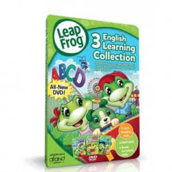 آموزش زبان کودک-منتخب آموزش زبان انگلیسی لیپ فراگ LEAPFROG - 3 ENGLISH LEARNING COLLECTION