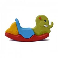 اسباب بازی-الاکلنگ تعادلی یک نفره فیل سبز آبی