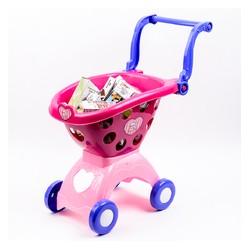 اسباب بازی-سبد خرید فروشگاهی صورتی playgo