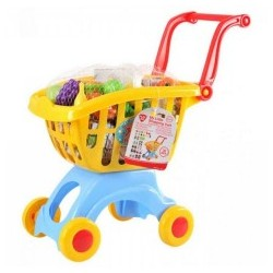 اسباب بازی-سبد خرید فروشگاهی زرد playgo