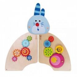 اسباب بازی-ست چوبی خرگوش دو تکه classical world