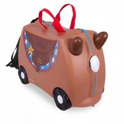 اسباب بازی-چمدان ترانکی اسب قهوه ای