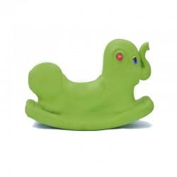 اسباب بازی-الاکلنگ تعادلی فیل یک نفره رنگ سبز
