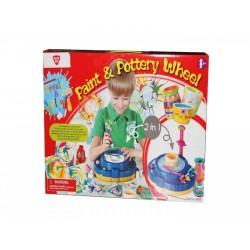 اسباب بازی-چرخ سفال گری و نقاشی دو کاره playgo