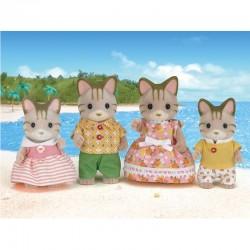 اسباب بازی-خانواده گربه sylvanian families