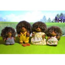 اسباب بازی-خانواده خارپشت sylvanian families