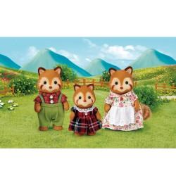 اسباب بازی-خانواده پاندا قرمز sylvanian families