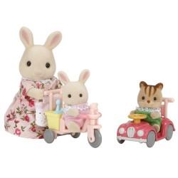 اسباب بازی-خرگوش و وسایل بازی sylvanian families