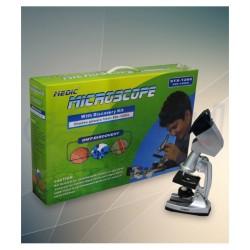 اسباب بازی-میکروسکوپ 1200 مانیتور دار سبز