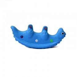 اسباب بازی-الاکلنگ تعادلی دو نفره کودک مدل دایناسور آبی