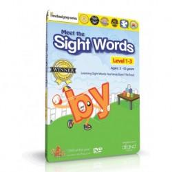آموزش زبان کودک-آموزش کلمات متداول به کودکان MEET THE SIGHT WORDS LEVEL 1-3