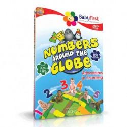 آموزش زبان کودک-اعداد دور زمین (NUMBERS AROUND THE GLOBE (BABY FIRST