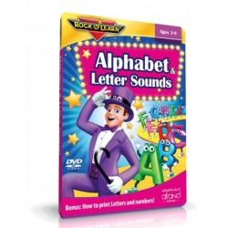 آموزش زبان کودک-آموزش الفبا و صدای حروف به کودکان (ALPHABET & LETTER SOUNDS (ROCK N LEARN