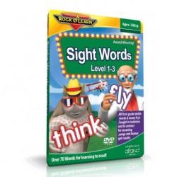 آموزش زبان کودک-آموزش لغات متداول انگلیسی (Sight Words Level 1-3 (Rock N Learn