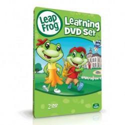 آموزش زبان کودک-مجموعه آموزشی لیپ فراگ LEAPFROG - LEARNING DVD SET