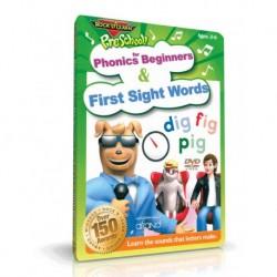 آموزش زبان کودک-آموزش آواها و کلمات متداول اولیه انگلیسی برای کودکان (PHONICS FOR BEGINNERS & FIRST SIGHT WORDS (ROCK N LEARN