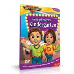 آموزش زبان کودک-آمادگی زبان برای قبل از دبستان (GETTING READY FOR KINDERGARTEN (ROCK N LEARN