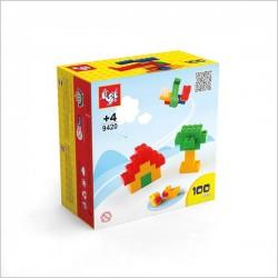 اسباب بازی-لگو بازی تا (100 قطعه)