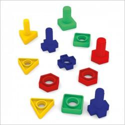 اسباب بازی-پیچ و مهره آموزشی