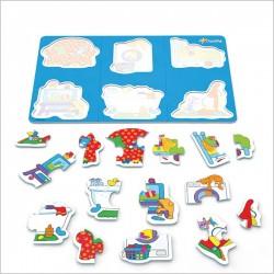 اسباب بازی-پازل جعبه ای در خانه