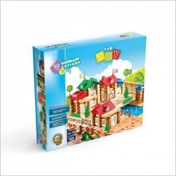 اسباب بازی-خانه جنگلی 58 تکه جعبه ای